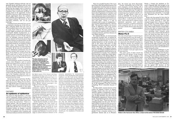 Article Preview: An epidemic of epidemics, September 1976 | Maclean's