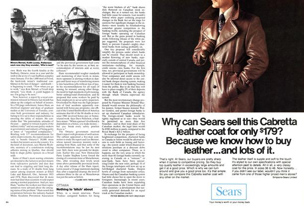 Article Preview: Nothing to 'bitch' about, September 1976 | Maclean's
