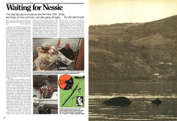 Article Preview: Waiting for Nessie, September 1976 | Maclean's