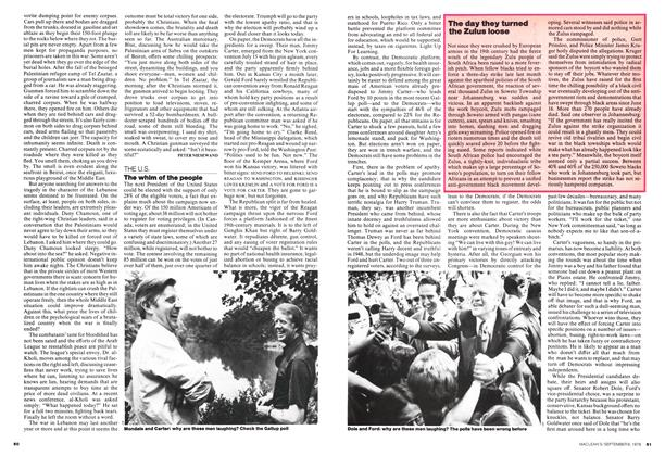 Article Preview: The whim of the people, September 1976 | Maclean's