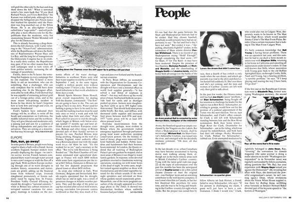 Article Preview: Sun, sun, go away!, September 1976   Maclean's