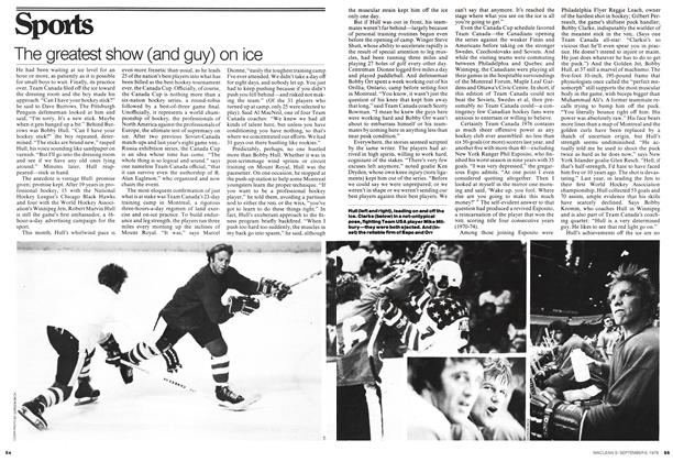 Article Preview: The greatest show (and guy) on ice, September 1976 | Maclean's