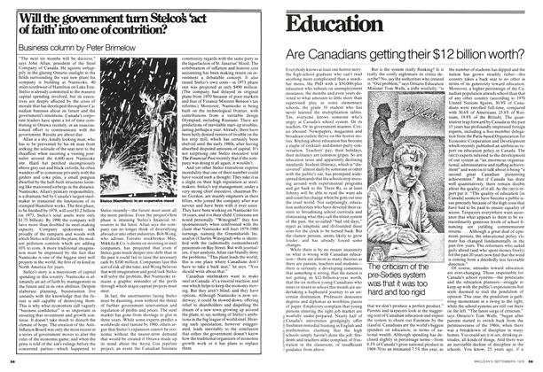 Article Preview: Will the government turn Stelco's 'act of faith'into one of contrition?, September 1976 | Maclean's