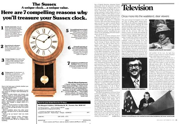 Article Preview: Once more into the wasteland, dear viewers, September 1976 | Maclean's