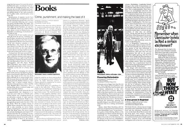 Article Preview: Crime, punishment, and making the best of it, September 1976 | Maclean's