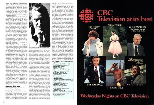 Article Preview: Summer doldrums, September 1976 | Maclean's