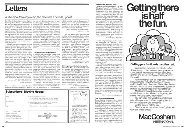 Article Preview: A little more traveling music, this time with a definite upbeat, October 1976 | Maclean's