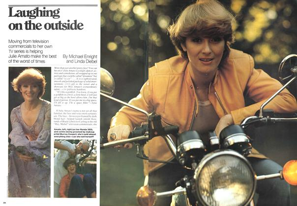 Article Preview: Laughing on the outside, October 1976 | Maclean's