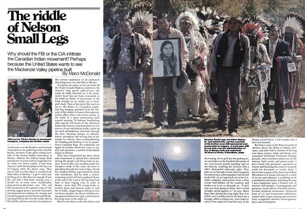 Article Preview: The riddle of Nelson Small Legs, October 1976 | Maclean's