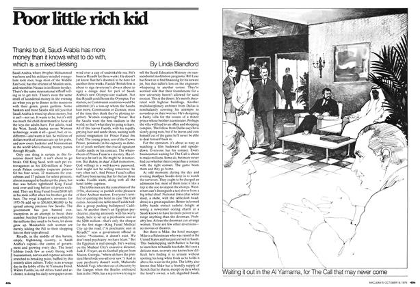 Article Preview: Poor little rich kid, October 1976 | Maclean's