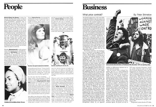 Article Preview: What price controls?, October 1976 | Maclean's