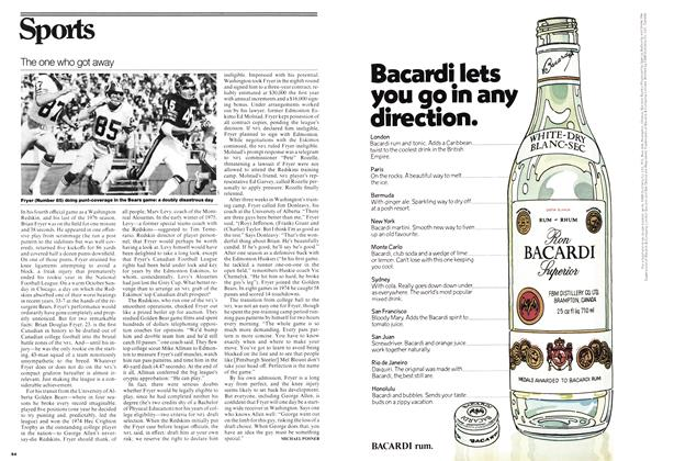 Article Preview: The one who got away, October 1976 | Maclean's