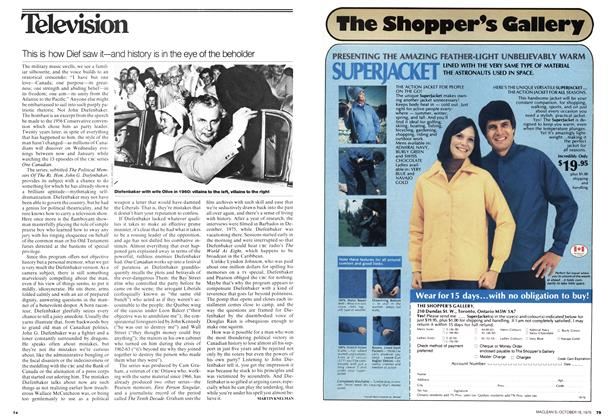 Article Preview: This is how Dief saw it—and history is in the eye of the beholder, October 1976 | Maclean's