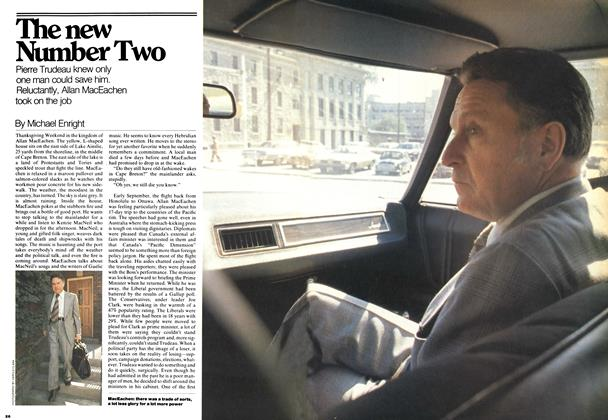 Article Preview: The new Number Two, November 1976 | Maclean's