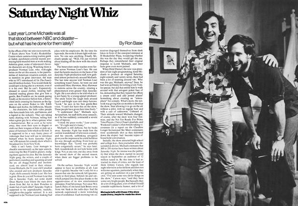 Article Preview: Saturday Night Whiz, November 1976 | Maclean's