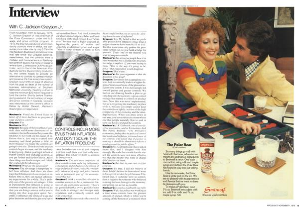 Article Preview: Interview, November 1976 | Maclean's