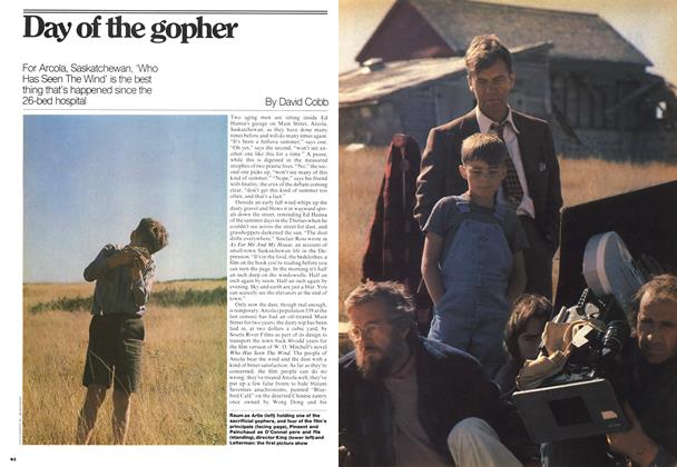 Article Preview: Day of the gopher, November 1976 | Maclean's
