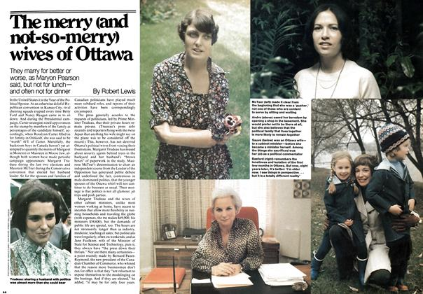 Article Preview: The merry (and not-so-merry) wives of Ottawa, November 1976 | Maclean's