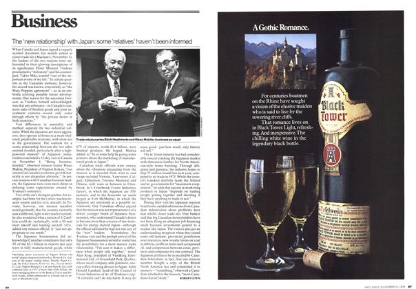 Article Preview: The 'new relationship' with Japan: some 'relatives' haven't been informed, November 1976 | Maclean's