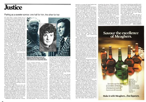 Article Preview: Parting as a sweeter sorrow: one half for him, the other for her, November 1976 | Maclean's