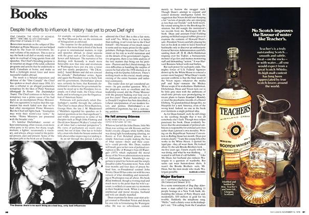 Article Preview: He fell among thieves, November 1976 | Maclean's