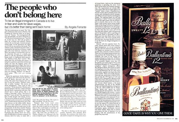 Article Preview: The people who don't belong here, November 1976 | Maclean's