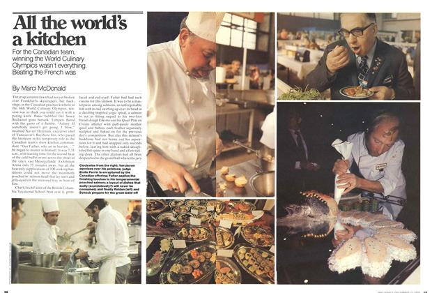 Article Preview: All the world's a kitchen, December 1976 | Maclean's