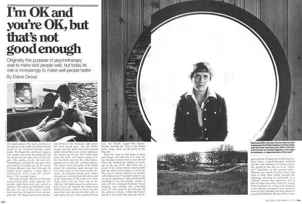 Article Preview: I'm OK and you're OK, but that's not good enough, December 1976 | Maclean's