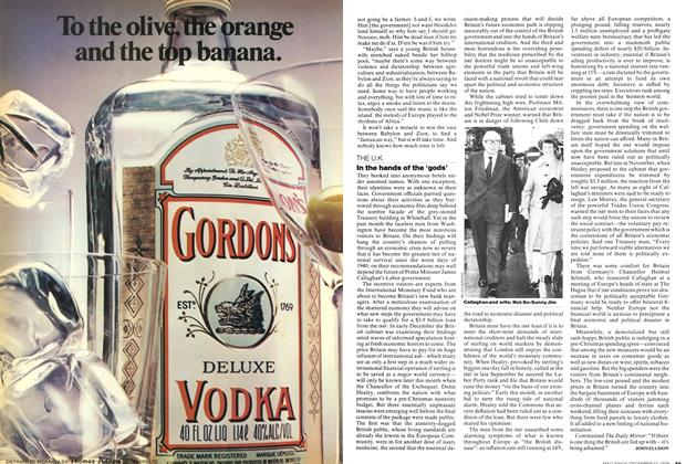 Article Preview: In the hands of the 'gods', December 1976 | Maclean's
