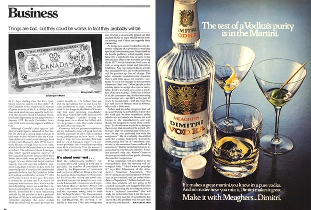 Article Preview: Things are bad, but they could be worse. In fact they probably will be, December 1976 | Maclean's