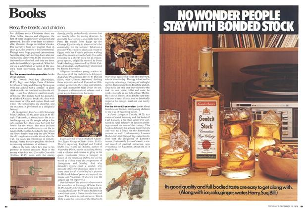 Article Preview: Bless the beasts and children, December 1976 | Maclean's