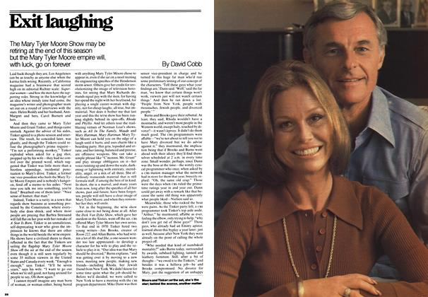 Article Preview: Exit laughing, December 1976 | Maclean's