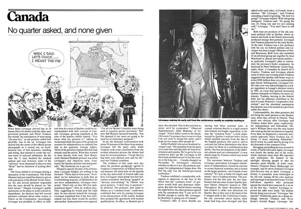 Article Preview: No quarter asked, and none given, December 1976 | Maclean's