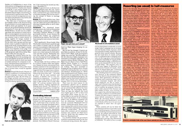 Article Preview: Controlling interest, January 1977 | Maclean's