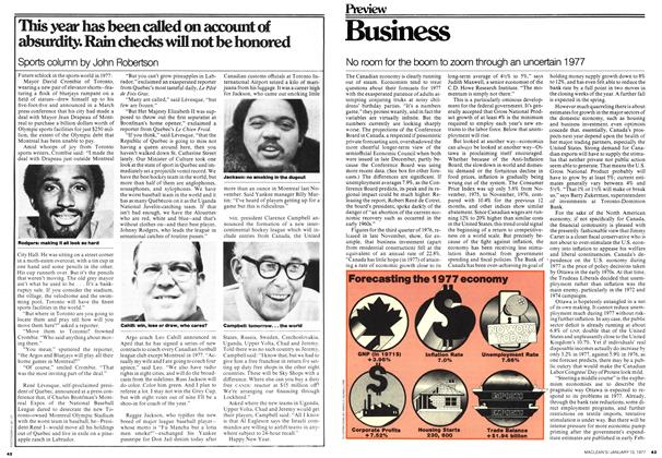 Article Preview: Business, January 1977 | Maclean's
