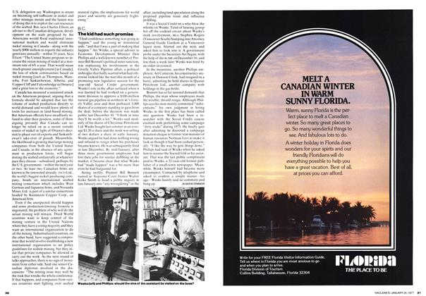 Article Preview: The kid had such promise, January 1977   Maclean's