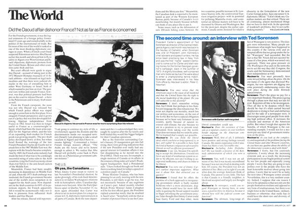 Article Preview: Oh yes, the Canadians..., January 1977   Maclean's