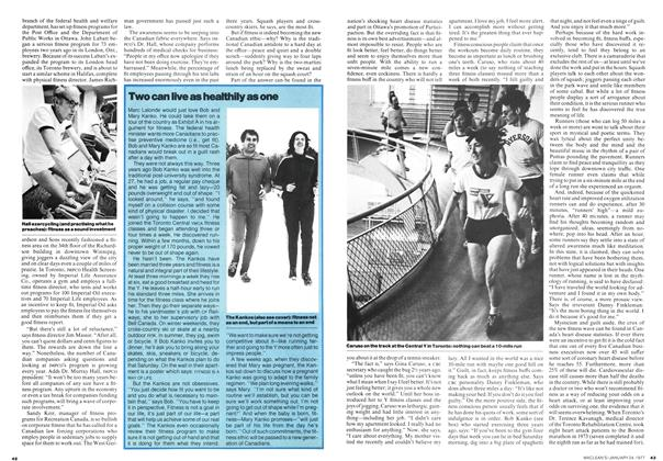 Article Preview: Two can live as healthily as one, January 1977 | Maclean's