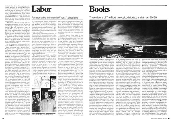 Article Preview: An alternative to the strike? Yes. A good one, January 1977 | Maclean's
