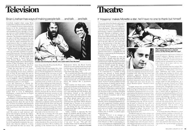 Article Preview: Brian Linehan has ways of making people talk... and talk... and talk, January 1977 | Maclean's