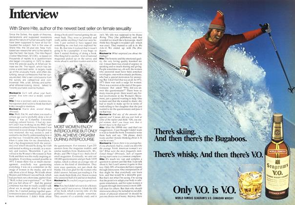 Article Preview: Interview, January 1977 | Maclean's