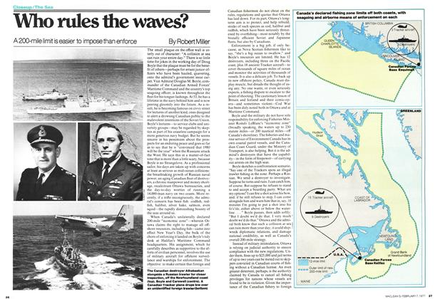 Article Preview: Who rules the waves?, February 1977 | Maclean's