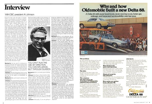 Article Preview: Interview, February 1977 | Maclean's