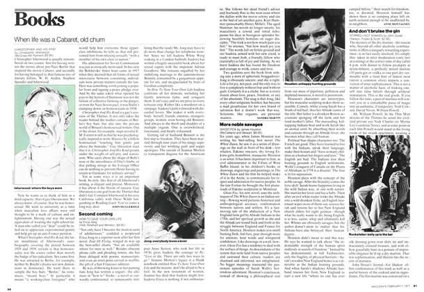 Article Preview: And don't bruise the gin, February 1977 | Maclean's