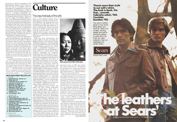 Article Preview: The new first lady of the arts, February 1977   Maclean's