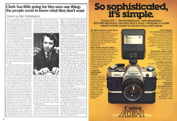 Article Preview: Clark has little going for him save one thing: the people seem to know what they don't want, February 1977 | Maclean's