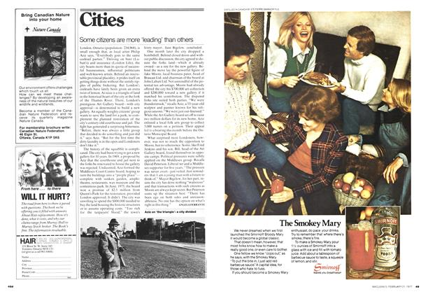 Article Preview: Some citizens are more 'leading' than others, February 1977 | Maclean's
