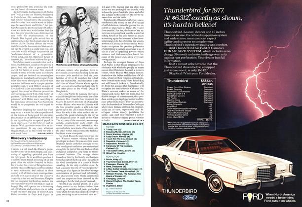 Article Preview: Discovery / rediscovery, February 1977 | Maclean's