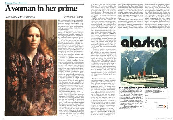 Article Preview: A woman in her prime, March 1977 | Maclean's