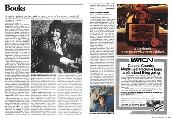 Article Preview: A man's reach should exceed his grasp, or what's a second novel for?, March 1977 | Maclean's